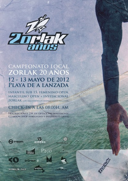 20th anniversary of Zorlak Surfboards