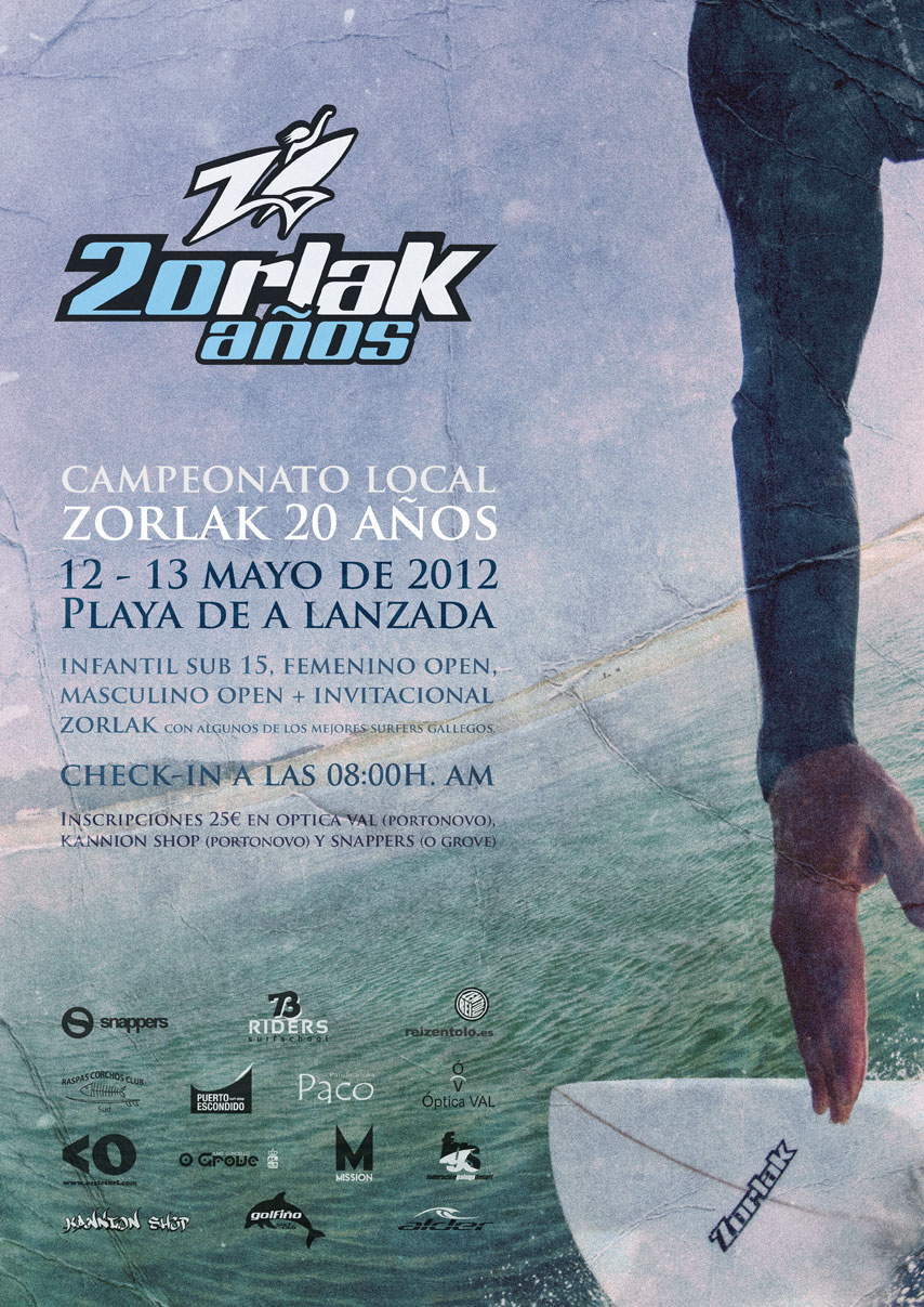 20th anniversary of Zorlak Surfboards