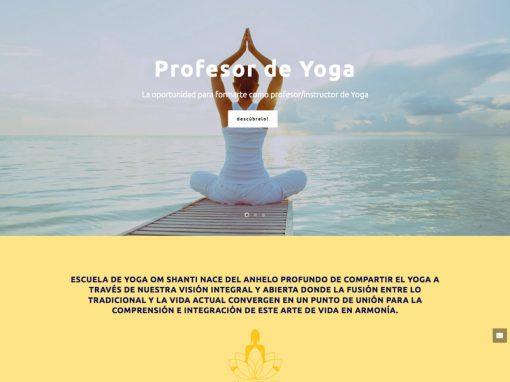 Om Shanti Yoga – Escuela de Yoga