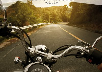 Carteles promoción Motorbeach adventures