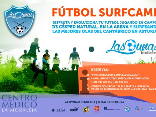 Campaña Valla publicitarias Surfcamp Las Dunas