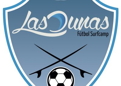 Logotipo Futbol-surfcamp Las Dunas
