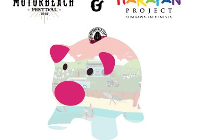 Campaña solidaridaria apoyo Harapan – Motorbeach Festival 2015