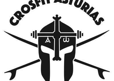 Logotipo Crosfit Asturias