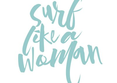 Surf like a woman