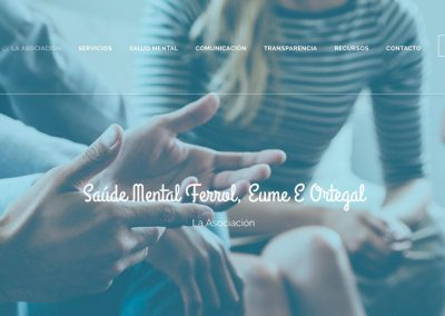Saude Mental Ferrol | web y donaciones