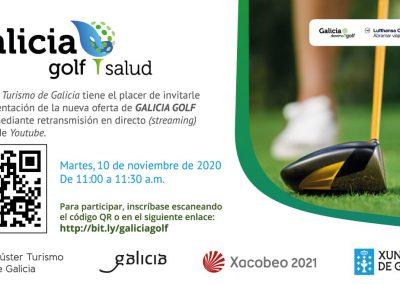 Invitación Galicia Golf Salud